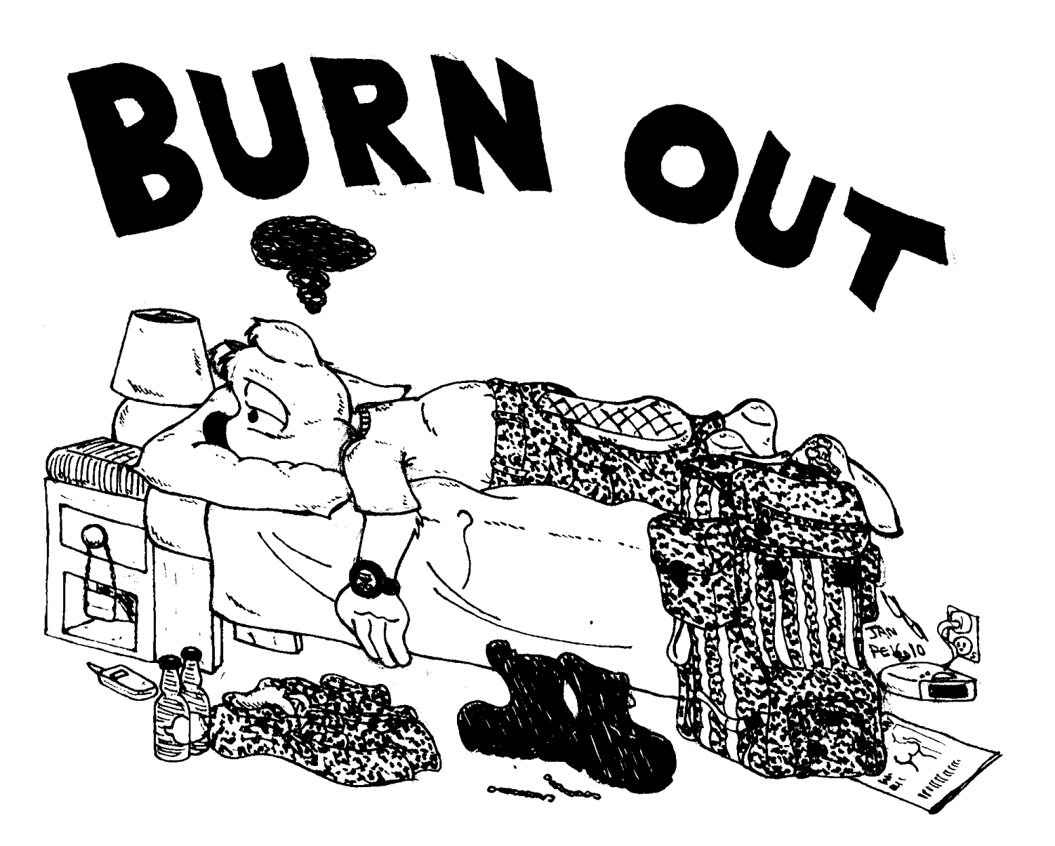 i am burned out